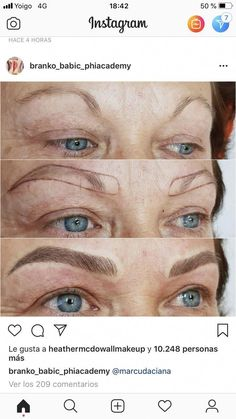 Microblading Eyebrows : Please rethink your over-tweezing ladies. It'll take a long time to ever grown… Eyebrow Makeup Tips, Permanent Makeup Eyebrows, Contour Makeup, Beauty Makeup, Makeup Eyes, Eyebrow Tinting, Eyebrow Pencil, Mircoblading Eyebrows, Tweezing Eyebrows