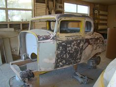 Tony's 32 Coupe Rebuild Projects, Cutaway, Log Projects, Blue Prints