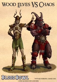 beast man & wood elf