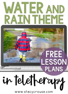 Make spring lesson planning for teletherapy EASY with this list of links to rain-themed activities that target a variety of speech and language goals. Build your own lesson plan using this round up that includes a virtual experience, Boom Cards, books, videos, interactive activities, and more! You'll have something for any goal, any age ready to go on Monday morning and all week long! Speech Therapy Organization, Free Lesson Plans, Middle School, High School, Interactive Activities, Lesson Planning, Monday Morning, Student Work, Speech And Language