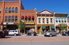 Manitou Avenue street  scene, Manitou Springs, Colorado, September 10, 2011 (pinned by haw-creek.com)