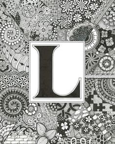 Today is Brought to you by the Letter L by ZenThing on Etsy, $50.00