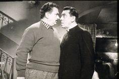 Don Camillo et Peppone se confrontent a nouveau.