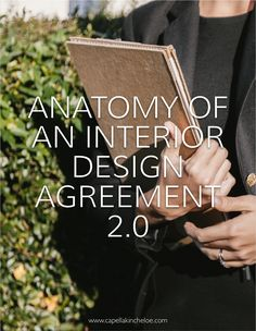 Want to know what should go into a real-life interior design contract or interior design agreement?This article shows you a real interior designer's real design contract and explains each clause.A must-read for any interior designer! Interior Design Business Plan, Interior Design Programs, Interior Design Courses, Interior Design Website, Commercial Interior Design, Interior Design Companies, Commercial Interiors, Business Design, Business Ideas