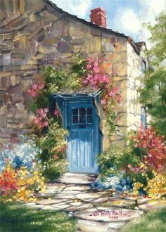 doorway in stone country house https://www.facebook.com/www.allthingsbeautiful/photos/pb.364227193656487.-2207520000.1409956939./698159933596543/?type=3
