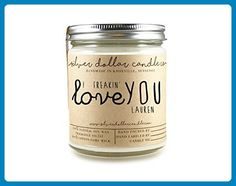 Personalized Scented Soy Candle Mothers Day Gift for Women Boyfriend - Huge Choice of scents - Venue and reception decor (*Amazon Partner-Link)