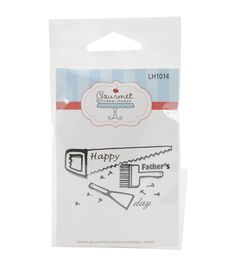 Gourmet Rubber Dad's Tools Cling Rubber Stamps