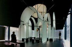 Byzantine Fresco Chapel, The Menil Collection, Houston Texas.  Designed by Francois de Menil.