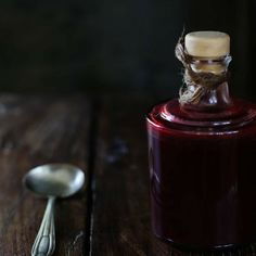 Blackberry vinegar jewellike enhancement to your cooking (in Polish and English)