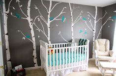 Szydłostycznie: Drzewo w pokoju dziecięcym