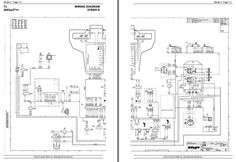 Original Illustrated Factory Electical Diagramm for Atlet
