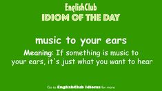 Idioms, Meant To Be, Words, Day, Music, Languages, Muziek, Music Activities, Musik