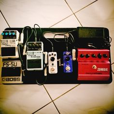 My Diago Commuter pedalboard