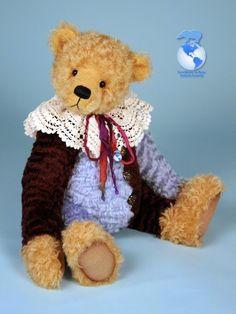 Bearing All 'Beau' created by #paulacarter 2014 'Excellence in Bear Artistry' Award winner!