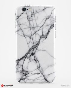 A collection of seven stunning White Marble iPhone Cases, available for iPhones and Samsung Galaxy phones. Made in England. Free shipping worldwide.