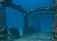 Underwater city of Port Royal, Jamaica, dates back to 17th century British Empire.