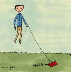 marc johns: kite tattoo - thomas