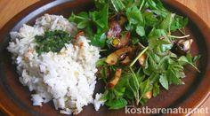 Leichter Frühlingskräutersalat mit Champingnons - Kostbare Natur