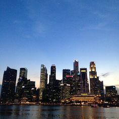 Singapore, Central Business District.