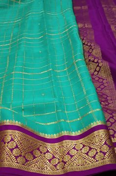 Blue  Handloom Mysore Crepe Silk Checks Saree  contact us on www.luxurionworld.com +91 22 22810169 +91 7738869115 OR +91 7710801701                                           #blue #checks #mysore #crepe #silk #saree #fashion #traditionalsaree #designersarees #handloom #occasionwear #onlineshopping #luxurionworld