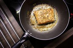 Free Image: Pan-Seared Salmon Steak Fillet | Download more on picjumbo.com!