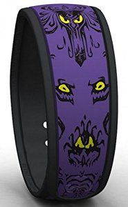 Disney World Haunted Mansion PURPLE Wallpaper Limited Release MagicBand Link It Later Magic Band #affiliate