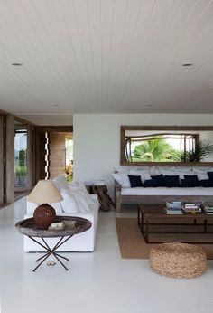 A STUNNING BEACH SIDE HOME IN BRAZIL | THE STYLE FILES
