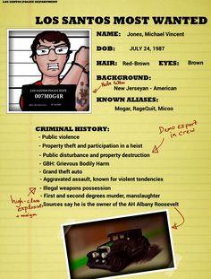 Michael Jones, Los Santos most wanted heist