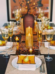 .table settings... Love!!