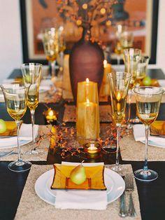 .table settings... Love!!