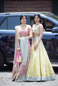 at Sonam Kapoor wedding in Indian Saree CLICK Visit link to see Indian Dresses, Indian Outfits, Indian Clothes, Indian Saris, Indian Lehenga, Sonam Kapoor Wedding, Sonam Kapoor Lehenga, Sabyasachi, Latest Bridal Lehenga