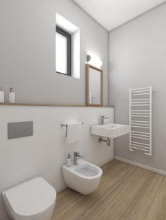 Gäste Wc Fliesen Modern Stil Für Badezimmer Mit Beige Fliesen Von K²  Architektur In Germany | Bathroom | Pinterest | Haus, Bath And Bath Room
