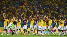 A Cuartos de Final contra Brazil