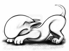English Bull Terrier Play Play Play by sookiesooker.deviantart.com on @deviantART