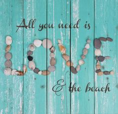 """Hand-assembled with a weathered, nautical look, this Pallet Wall Sign will bring joyful reminder of the ocean, beach or any summertime vacation - measures 24"""" x 24.75"""" - rustic, weathered designs - ca"""