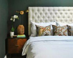 Copy Cat Chic Room Redo | Forest Green Bedroom