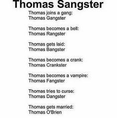 Lol but Thomas Crankster