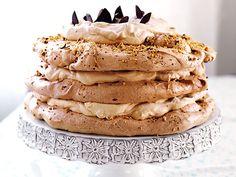 Marängtårta med moccakräm   Recept från Köket.se