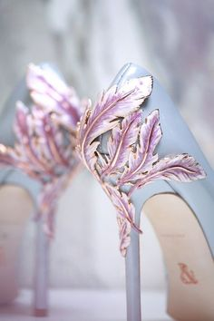 fairytale shoes. Ralph & Russo Spring/Summer 2016 Couture