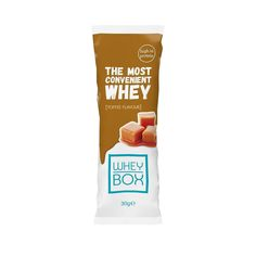 Toffee  Pocket-friendly protein brought to you by Whey Box!