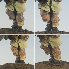 Peter Motas is a name we are all coming to recognise for fabulously detailed and inspirational work, Better for us all is that he loves to share knowledge and here. Modeling Techniques, Modeling Tips, Autumn Theme, Winter Theme, Bolt Action Game, Bolt Action Miniatures, Learning Patience, Earth Pigments, White Spirit