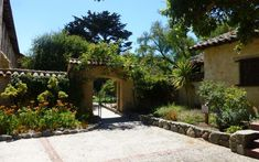 The Mission San Carlos de Borromeo in Carmel, California plays host to any number of paranormal entities.