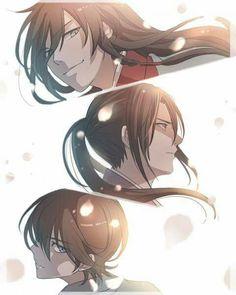 Touken Ranbu x Hakuouki Shinsengumi Chibi Boy, Anime Chibi, Anime Art, Katana, Touken Ranbu Characters, Sword Dance, Manga Boy, Anime Boys, Cutest Couple Ever