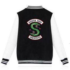 South Side Serpents Letterman Jacket - Unisex