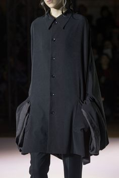 Yohji Yamamoto at Paris Fall 2015 (Details)