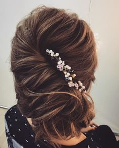 beautiful wedding hairstyles | Bridal updo hairstyle ideas | messy updo | fabmood.com #weddinghair #harido #besthairstyle #hairstyle #hairstyleideas #weddingupdo #upstyle #bridalupdo #weddinghairstyles #updoideas #bohohairstyle #updowedding #updos