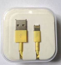 iPhone 5 5S/5C iPad Lightning USB Cable Yellow