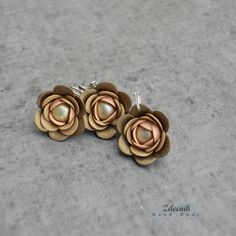 Brown set of jewellery