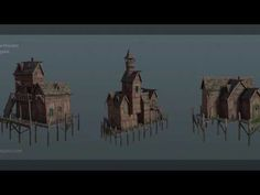Houdini 16 - Games Developer Conference 2017 Procedural Assets for Unrea. Game Engine, Never Stop Learning, Unreal Engine, Alchemist, Wood Crafts, Engineering, Animation, Digital, Tutorials