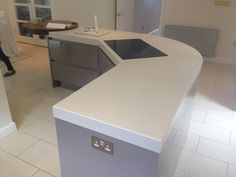 Corian Solid Surface, Corner Desk, Furniture, Home Decor, Corner Table, Decoration Home, Room Decor, Home Furniture, Interior Design
